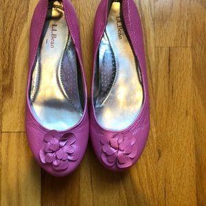 Pink LL Bean Flats